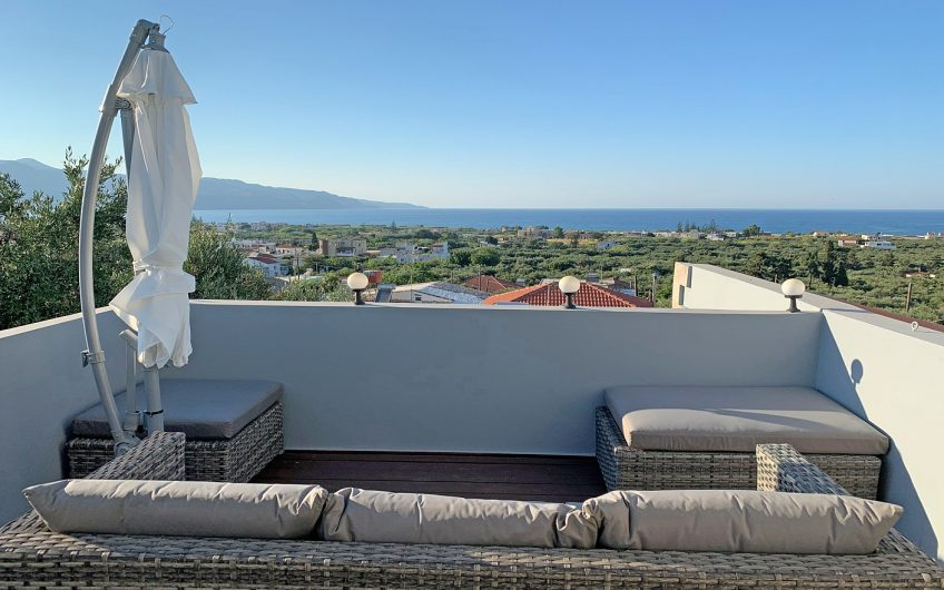 Ktimatoemporiki Sea View House for Sale in Chania Crete