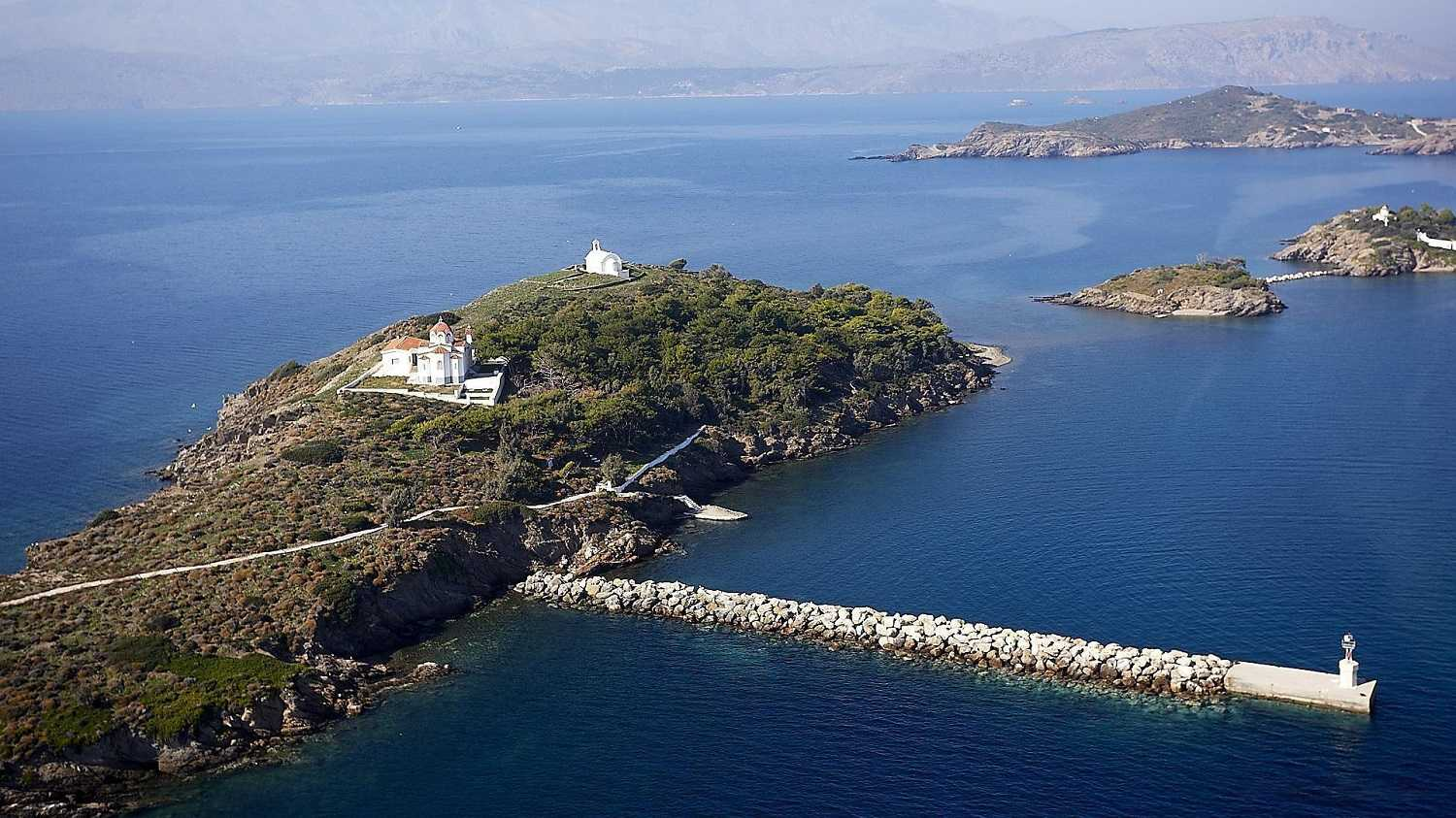 Island for sale in Greece. ID PV-126