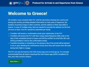 Greece Property News Ktimatoemporiki Tourism This is the protocol for holidays in Greece