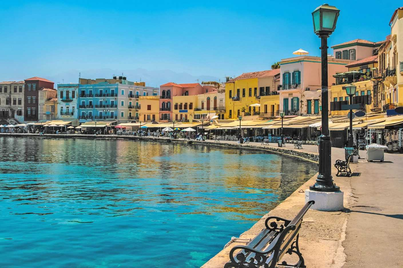 Seafront Hotel for sale Old Town Chania. ID 02-095